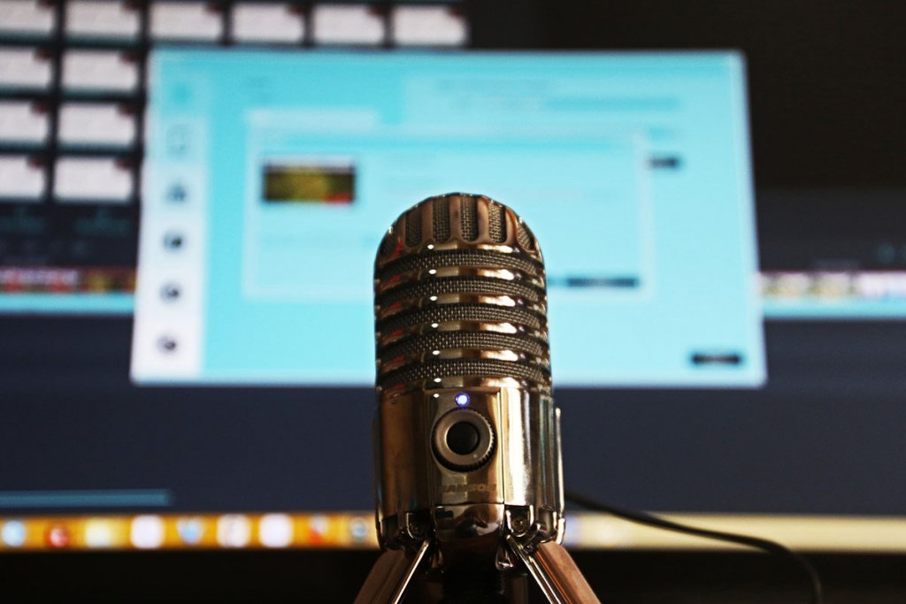 be a podcaster